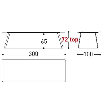 300x100cm