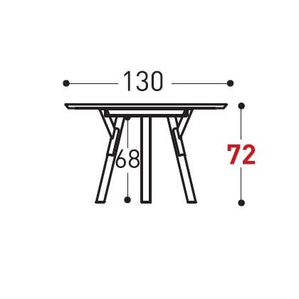 Ø130cm