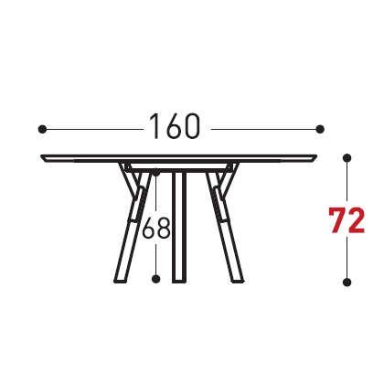 Ø160cm