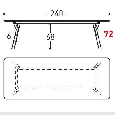 240cm