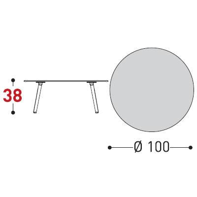100xh.38cm