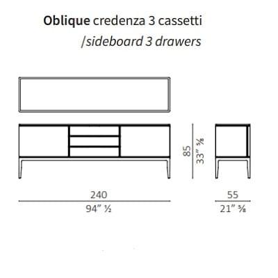 3 Cassetti