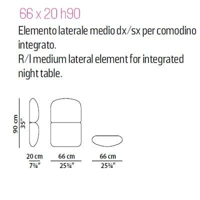 Medium for integrated light bedside
