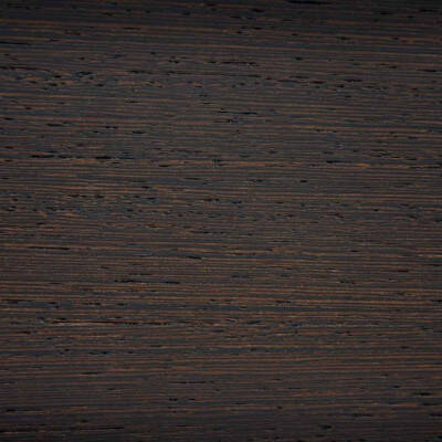 Dark brown sand-blasted beech