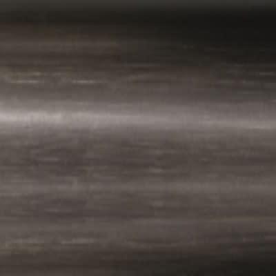 Metallo spazzolato brunito
