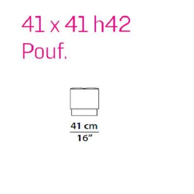 Pouf 41 cm