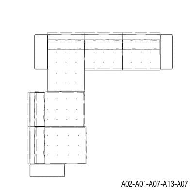 Angular 412 x 428 cm
