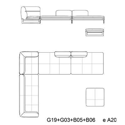 6 - 450 x 345 + pouf a20