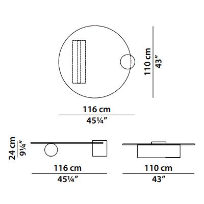116x110cm
