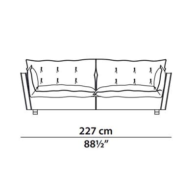 227 cm