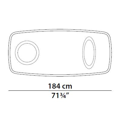 184cm