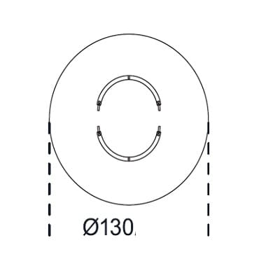 Round Ø 130 cm