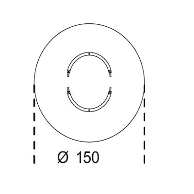 Round Ø150 cm