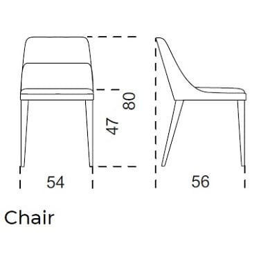 Small armrest lounge (seat height 40cm)