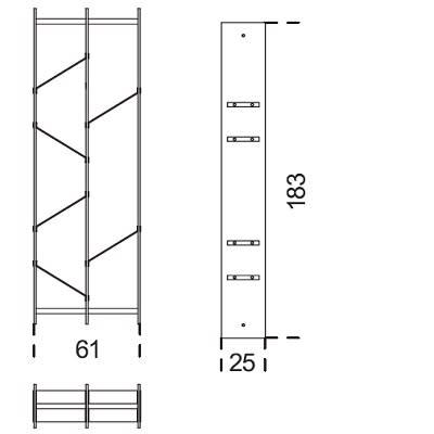 61x183 cm