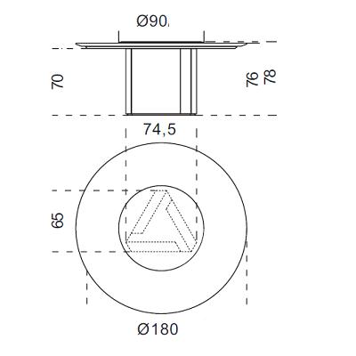 Ø180 cm