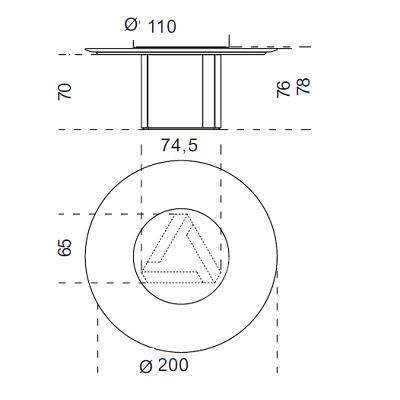 Ø200 cm