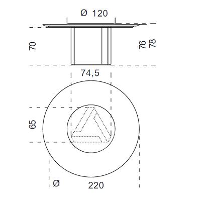 Ø220 cm