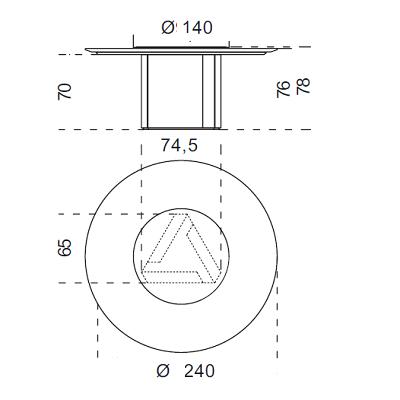 Ø240 cm