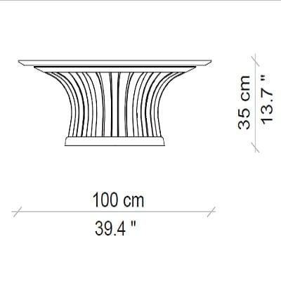 100x35 cm