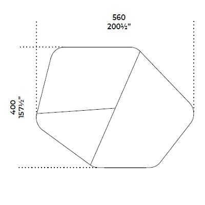 560x400 cm
