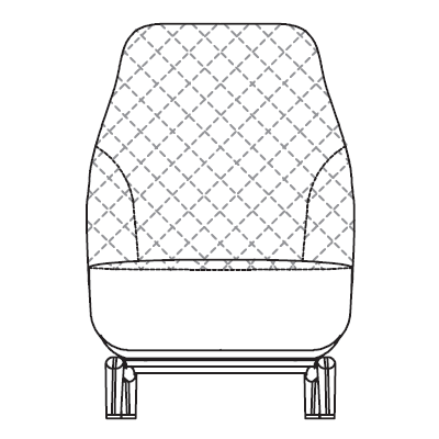 Quilted Bergere