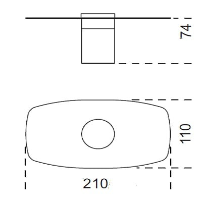 210x74