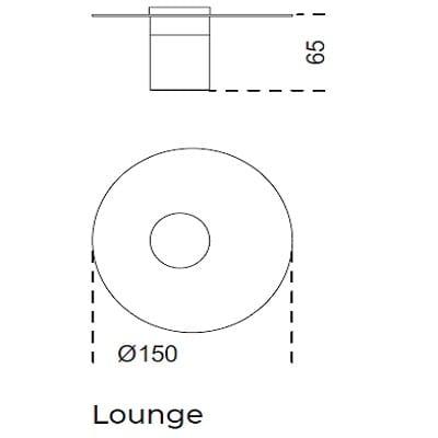 Ø150x65 Lounge
