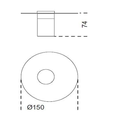 Ø150x74