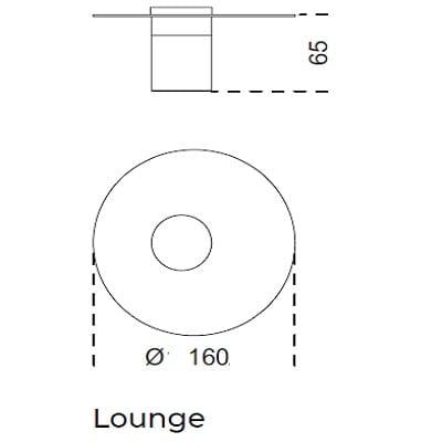 Ø160x65 Lounge