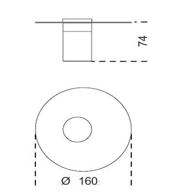 Ø160x74