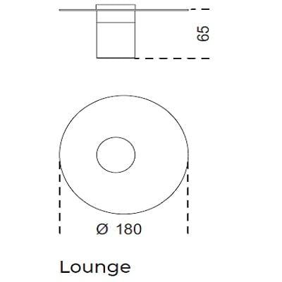 Ø180x65 Lounge
