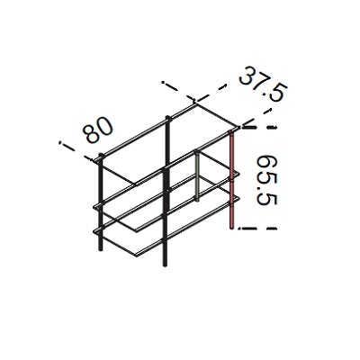 80x65.5 cm