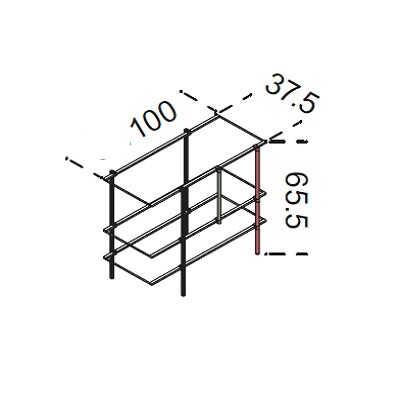 100x65.5 cm