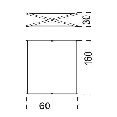 60x160x30