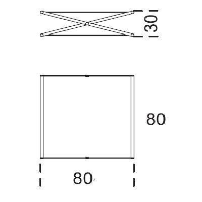 80x80x30