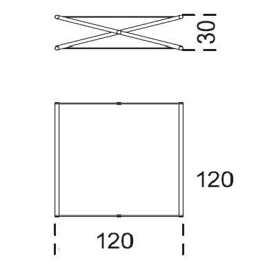 120x120x30