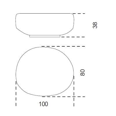 100x80 cm