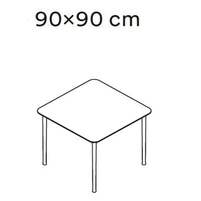 90x90 cm