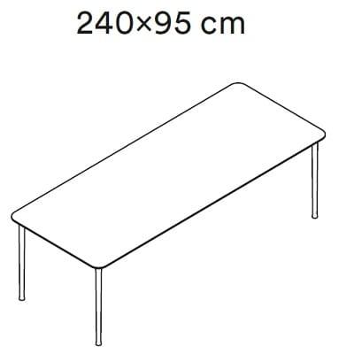 240x95 cm