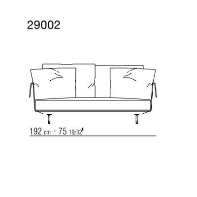 192x110xH71 cm
