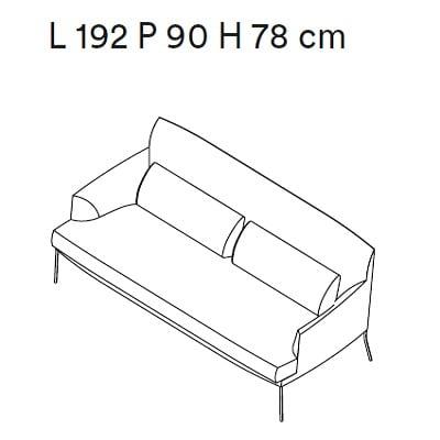 192 cm