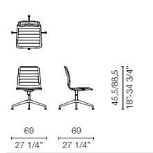 LSX3 (Base chair 4 spokes)