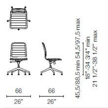 LSX35 (Base chair 5 spokes)