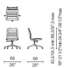 LS35 (Base chair 5 spokes)