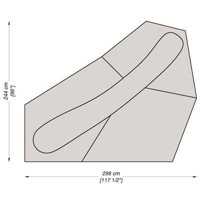 Configuration 10 - 244x298 cm