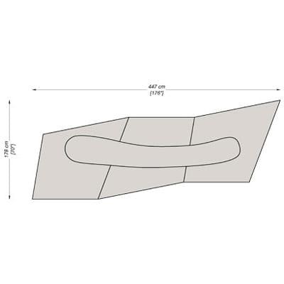 Configuration 11 - 178x447 cm