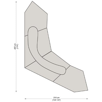 Configuration 7 - 455x316 cm