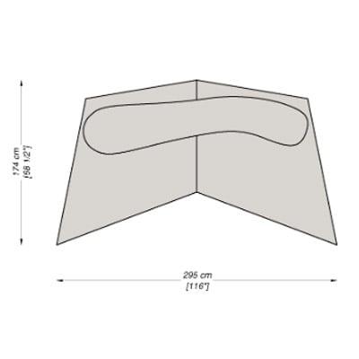 Configuration 13 - 295x174 cm