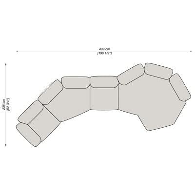 Angolare 9 499x236 cm